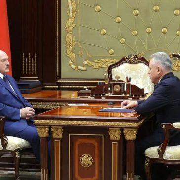 Президент Беларуси встретился с председателем Федерации профсоюзов Михаилом Ордой