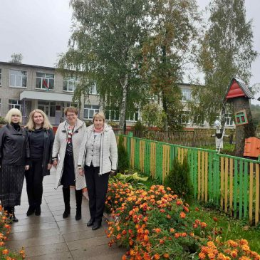 Рабочий визит областного комитета профсоюза в Шкловский район